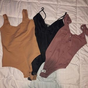 Charlotte Russe Tops - 3 body suits